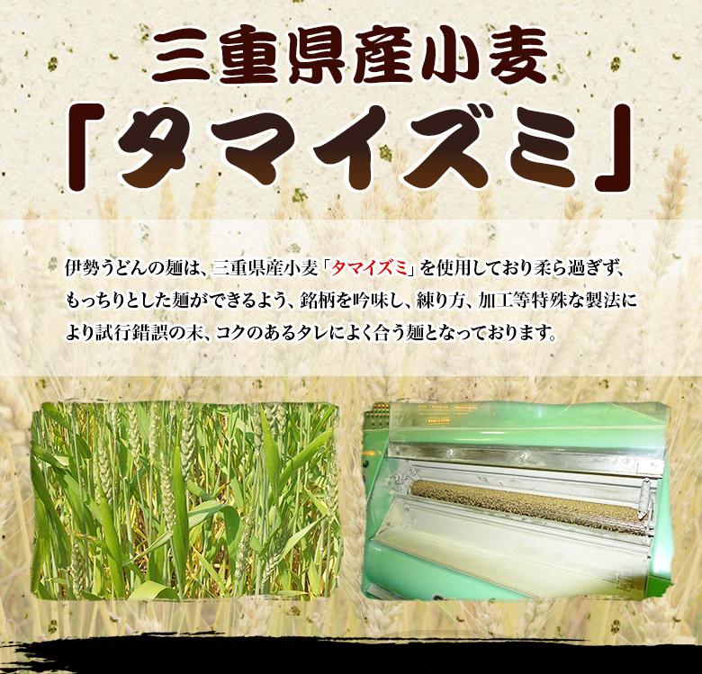 国産小麦100%伊勢うどん